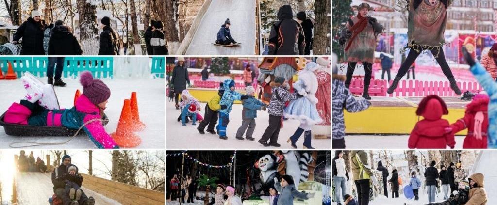 Жизнь парка г. Томска